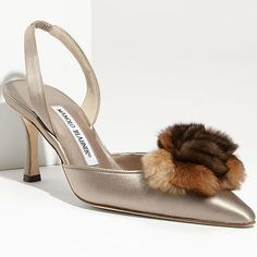 Are You Feeling the Fur Tufts Shoe Trend for Fall 2011?
