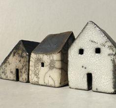 row of small raku houses