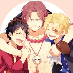 ONE PIECE, Portgas D. Ace, Monkey D. Luffy, Sabo
