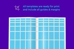 Ad: Gridtastic Grid Kit by Dominik Levitsky Studio on UPDATE: Added and formats! Gridtastic is a grid templates kit for most common paper sizes: Grid System, Book And Magazine, Grid Design, Paper Size, Ads, Templates, Marketing, Creative, Canon