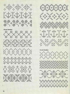 scandinavian knitting motif chart - Google Search: