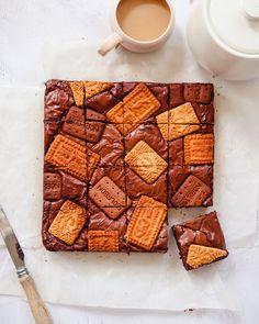Malted Milk Biscuits, Bourbon Biscuits, Baking Recipes, Dessert Recipes, Desserts, Baking Ideas, Afternoon Tea Recipes, No Bake Brownies, Delicious Magazine