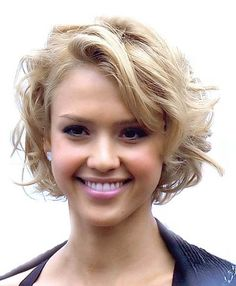 Short Curly Hairstyles for Beautiful Women