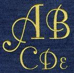425 Fontleroy Satin Font