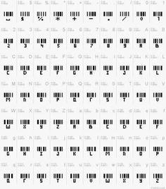 Barcode Alphabet – Secret Messages Of Love Alphabet Code, Alphabet Symbols, Mini Tattoos, Body Art Tattoos, Small Tattoos, Secret Code, The Secret, Alfabeto Tattoo, Bracelet Message