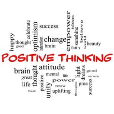 When it comes to #positive #thinking, the emphasis has to be on the positive - so what you want has to be in the positive