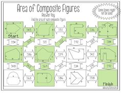 This area of composite / irregular figures maze would be so perfect for my math & Geometry students.  They love doing maze activities like this.