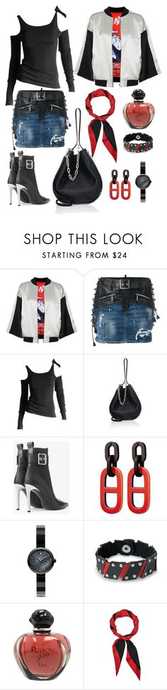 autumnnn by galata-kule on Polyvore featuring moda, Tom Ford, Opening Ceremony, Dsquared2, rag & bone, Alexander Wang, NOVICA, Movado, Gucci and Christian Dior