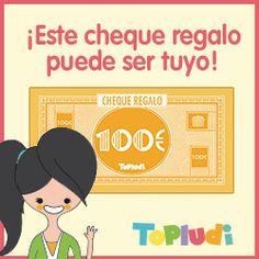 Si quieres ganar un cheque-regalo en productos Topludi, participa en nuestro sorteo aquí:  http://goo.gl/yDUrq6