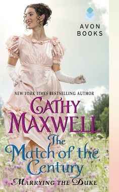 Book-o-Craze: Book Tour {Giveaway} -- The Match of the Century (Marrying the Duke #1) by Cathy Maxwell