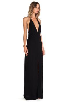 SOLACE London Piaggi Maxi Dress in Black | REVOLVE