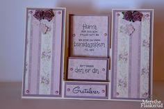 Merethe Flaskerud: Bursdags kort i lilla Frame, Home Decor, Pictures, Decoration Home, Frames, A Frame, Interior Design, Home Interior Design, Home Improvement