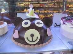Chocolate Bear Korean Cake - Paris Baguette.