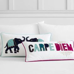 Velvet Applique Pillow Covers | PBteen