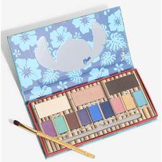 Disney Lilo & Stitch Ohana Eye Shadow Palette (1.000 RUB) ❤ liked on Polyvore featuring beauty products, makeup, eye makeup, eyeshadow and palette eyeshadow