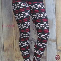 Whether you wear these on your next trip to the badminton court, watching your favorite redblack team, or when you are making a fashion statement, these leggings are ready for the ride! These leggings are available in 2 different sizes, classic and curvy!