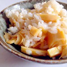 たけのこもらったから急きょ、夜中アク抜きしてやっと食べられる。 まずはたけのこご飯から。 - 12件のもぐもぐ - たけのこご飯 by blejanu