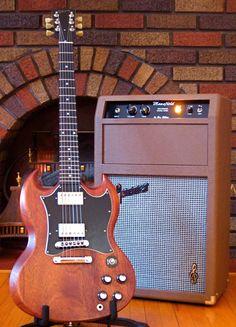 Gibson Guitar and Garnet Mansfield tube Amp.  Very nice!
