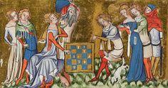 Medieval Fashion 1350