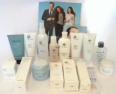 Nu Skin Refreshing Facial Spa Kit Conductive Gel Epoch Mask ageLOC