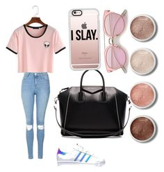 Untitled #1 by emilyharwoodx on Polyvore featuring polyvore, fashion, style, Topshop, adidas, Givenchy, Casetify, Terre Mère and clothing