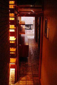 Hallway to master suite - Don Erickson home