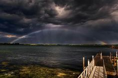 Geneva Lake right after a storm