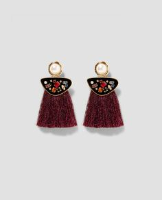 Earrings Drop Earrings Cat Earrings Tassel Fringe Long Bohemian Boho Women 2018 Summer Colour Earring Luxury Pendientes Rojos Pendientes Flecos Blancos Online Shop
