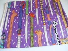 Inspirations Fabric by Terrie Mangat for Free Spirit Chinese Astrology Totems Purple Last Yard from SheSellsFabric #etteam