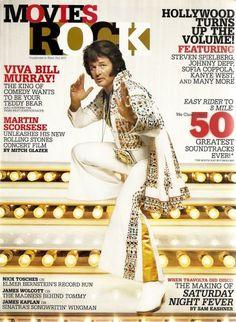 Bill Murray as Elvis Presley