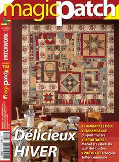 Délicieux hiver - Magic Patch - Patchwork - Editions de Saxe -