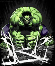 Hulk by Mauricio Herrera