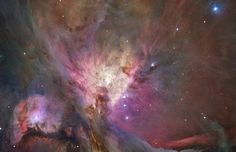 Hubble's Sharpest View of the Orion Nebula Space Photo Art Poster Print at Allposters.com at AllPosters.com
