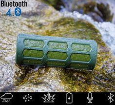 New Rugged & Waterproof Wireless Marine Grade Bluetooth Speaker Alpatronix AX410 #waterproof #bluetoothportablespeaker $39.95