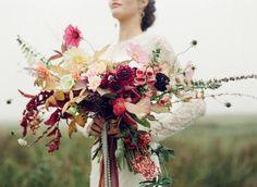 Autumn Heather Inspired Wedding Style | Wedding Sparrow | Taylor & Porter Photographs