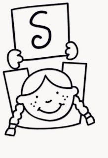 Alfabeto Para Pintar Criancas Segurando Plaquinhas Com Letras
