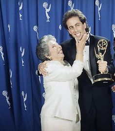 Photo of Jerry Seinfeld & his  Mother  Betty