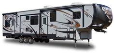 < Heartland Toy Haulers | Heartland RVs Model CY 3800