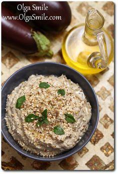 Baba ghanoush pasta z bakłażana Baba Ganoush, Plant Based Diet, Gnocchi, Eggplant, Hummus, Pesto, Risotto, Vegan Recipes, Curry