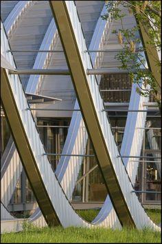 Zentrum Paul Klee Art Gallery, Bern, Switzerland by Renzo Piano Architect