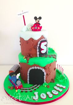 Mickey Mouse Train on Pinterest Train Party, Mickey ...
