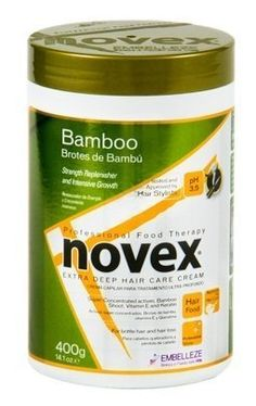 Novex Creme De Tratamento Condicionante Professional Food Therapy (Bamboo (Brotes de Bambu), 14.1oz) >>> Details can be found by clicking on the image.