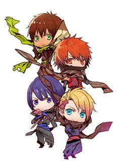 Cecil, Otoya, Masato & Syo