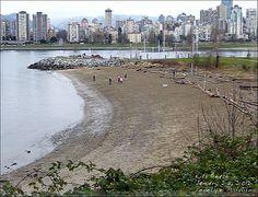 Kitsilano Beach in winter: will walk here today...