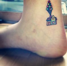 Up tattoo