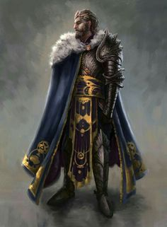 Human King - Pathfinder PFRPG DND D&D d20 fantasy