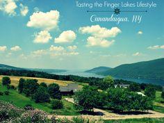Tasting the Finger Lakes Lifestyle in Canandaigua, New York #weekendgetaway