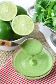 Thiscreamy combo of avocado with cilantro and limewill convince you to never buy the bottled stuff again! This dressing is both easy and delicious which are two of my favourite things. Look at this avocado! Who needs cream when you have this decadent, velvetyfruit to add to your freshly made summer salad dressings? How …