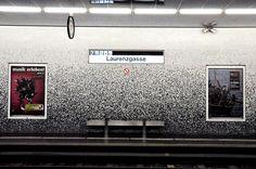 Station Laurenzgasse Wien, Austria Custom Mix  #trend #green #mosaic # vitreo #mix #metro
