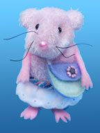 Mouse made from baby sock From www.daniellesplace.com.   Other sock animals.